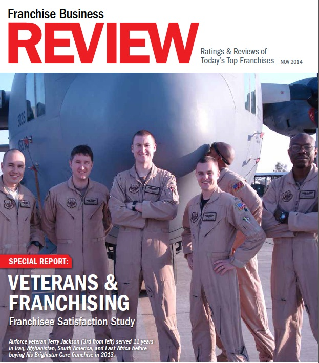 Is franchising an ideal career path for veterans